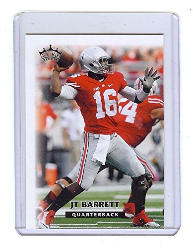 """JT BARRETT 2015 """"1ST EVER PRINTED"""" COLLEGE ROOKIE CARD! OHIO STATE BUCKEYES!"""