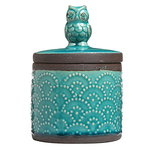MyGift Canister Decorative Accessory Container