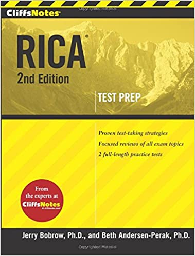 Cliffsnotes Rica 2nd Edition Cliffsnotes Paperback Beth