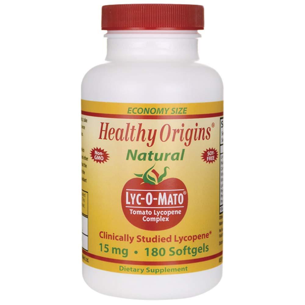 Healthy Origins, LYC-O-MATO LYCOPENE - 180 SGEL by Healthy Origins