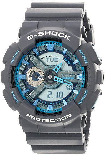 Men's G-Shock Analog/Digital Watch, Grey, GA110TS-8A2