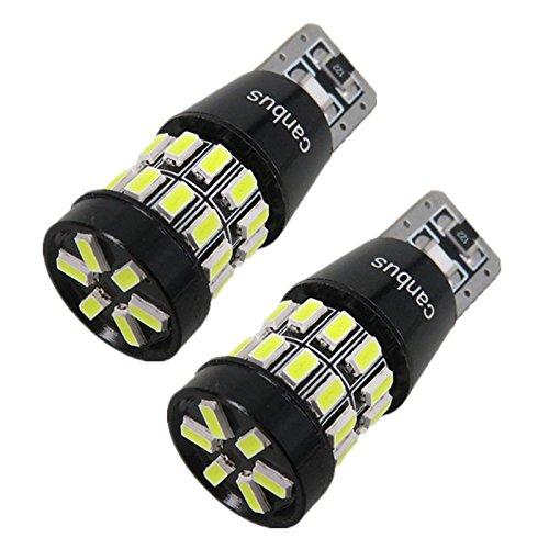 13 opinioni per Siluk- Set di 2 luci di posizione con 30 LED SMD, luce bianca W5W T10, base in