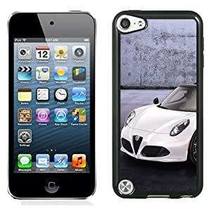 New Personalized Custom Designed For iPod Touch 5th Phone Case For 2014 Alfa Romeo Spider White Phone Case Cover