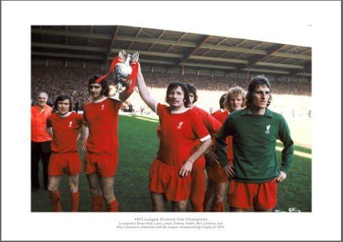 Liverpool FC 1973 League Champions Team Photo Memorabilia