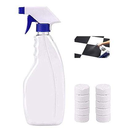 AOLVO 10 Piezas Limpiador de Espray Efervescente con Botella de Spray Removedor de Manchas Multifuncional Concentrado