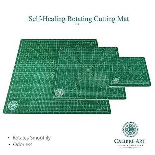 Calibre Art Rotating Self Healing Cutting Mat Perfect For