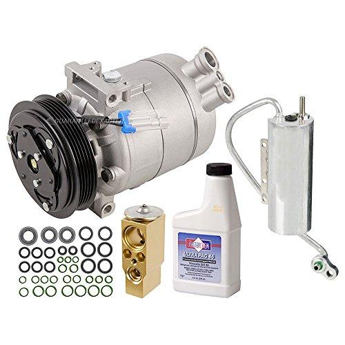 AC Compressor w/A/C Repair Kit For Saab 9-3 & 9-3X - BuyAutoParts 60-81796RK New