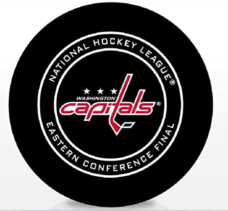 c41b2241225 Amazon.com   The Hockey Company 2018 CAPITALS GAME PUCK EASTERN ...
