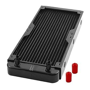 DealMux alumínio Computer CPU 18 canos de água de refrigeração trocador de calor do radiador 270
