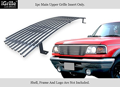 APS Fits 1993-1997 Ford Ranger 2WD Stainless Steel Billet Grille Grill Insert #F85013S