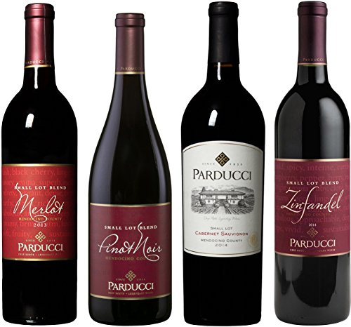 Parducci Mendocino Collection Wine Mixed Pack, 6th Edition, 4 x 750 mL