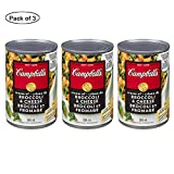 Campbell's Broccoli Cheese Soup, 284ml (Pack of 3)