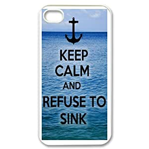 iPhone 4,4S Phone Case Anchor Quotes S8T91859