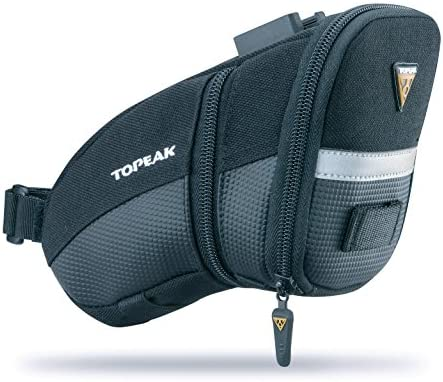 Topeak Aero Wedge Pack Expandable Quick Release Clip-On 27.3-34.9mm Seatpost Bag