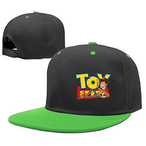 [MayDay Cycling Children Baseball Cap Flexfit Hat KellyGreen] (Sheriff Hats For Sale)