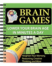 Brain Games #4: Lower Your Brain Age in Minutes a Day (Volume 4)