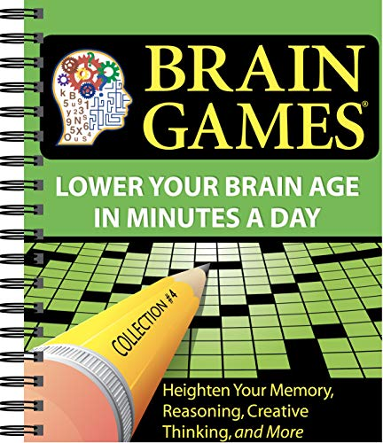 Brain Games #4: Lower Your Brain Age in Minutes a Day (Brain Games – Lower Your Brain Age in Minutes a Day)