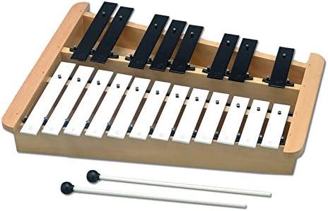 Percussion Workshop hk2201 Nota Glockenspiel con caja de resonancia y baquetas: Amazon.es: Instrumentos musicales