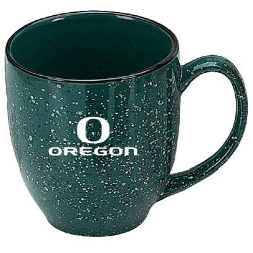 (Oregon Ducks 16oz Ceramic Bistro Coffee Mug)