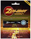 zen energy - ZEN-ERGY Balance Bands - for Power, Strength, Agility, Focus, Well Being, Positive Energy Flow (Black Band with White, Medium (190mm))