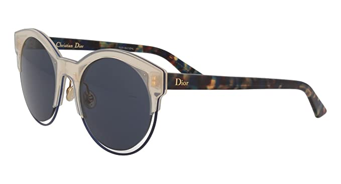 fb3afb83c7a Dior DIOR SIDERAL 1 TRANSPARENT LIGHT PINK BLUE HAVANA BLUE women Sunglasses   Amazon.co.uk  Clothing