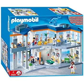 Playmobil children 39 s medical area toys games for Chambre playmobil