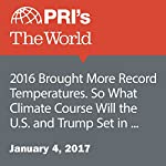 2016 Brought More Record Temperatures. So What Climate Course Will the U.S. and Trump Set in 2017? | The World Staff