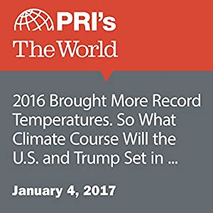 2016 Brought More Record Temperatures. So What Climate Course Will the U.S. and Trump Set in 2017?