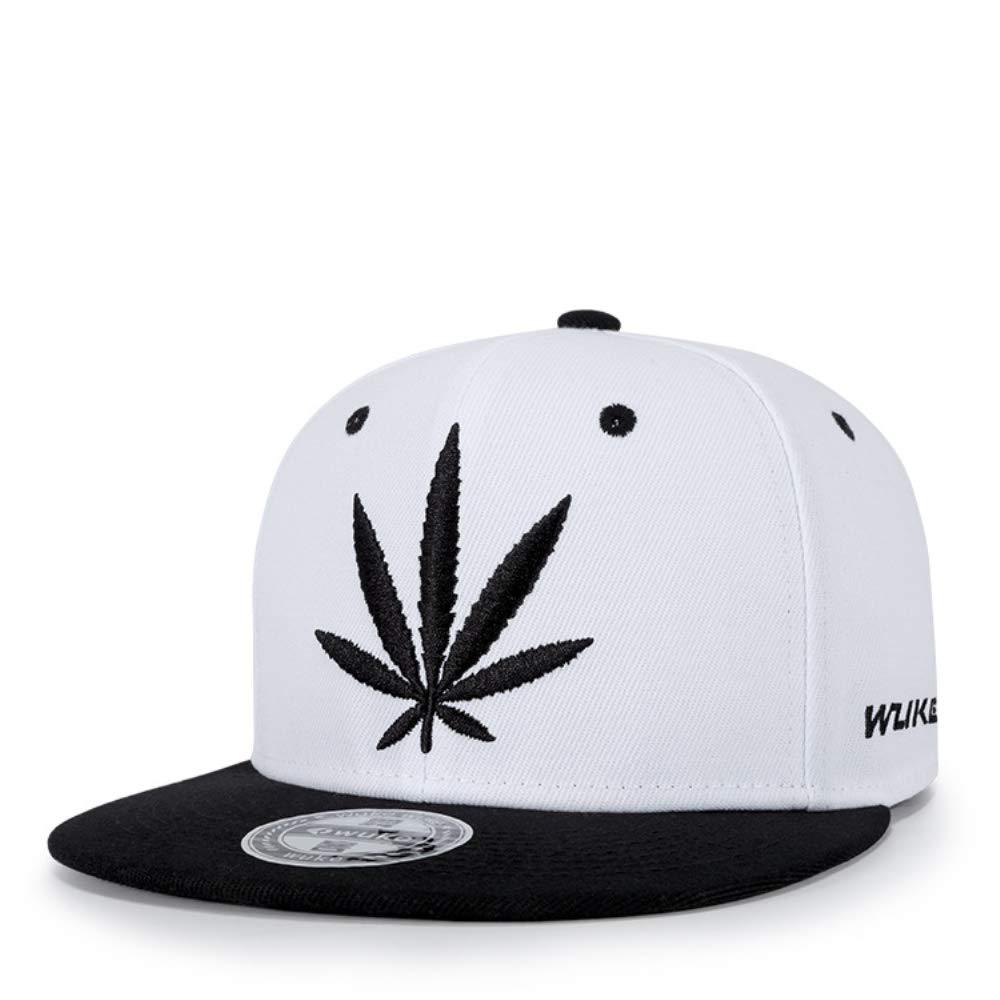 Snapback Hiphop Cap Cannabis Marihuana Weed Leaf Flat Peak Gorras ...
