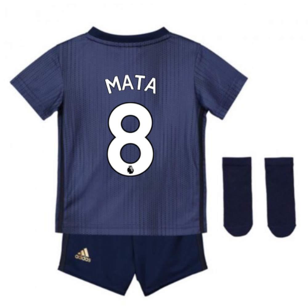 UKSoccershop 2018-2019 Man Utd Adidas Third Baby Kit (Juan MATA 8)