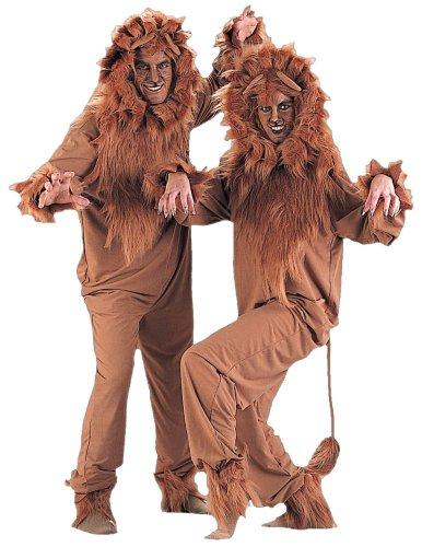 (Charades Adult Lion Costume,)