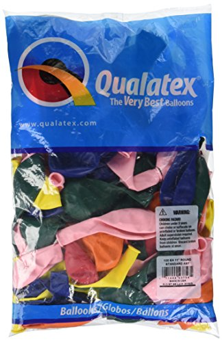 Pioneer Balloon Company 100 Count Standard Latex Balloon, 11