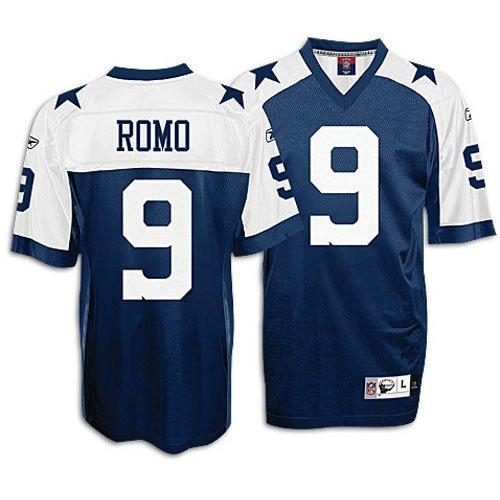 Amazon.com : Tony Romo Reebok NFL Throwback Premier Dallas Cowboys ...
