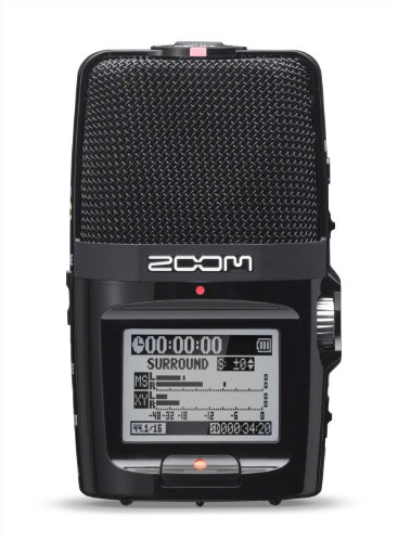 - Zoom H2n Handy Recorder