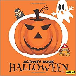 i love halloween girls activity book