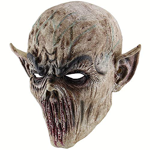 TANGGOOO Halloween Bloody Scary Horror Mask Adult