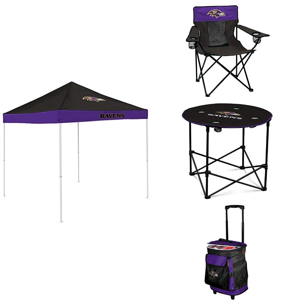 Logo Brands Baltimore Ravens Total Tailgate Package