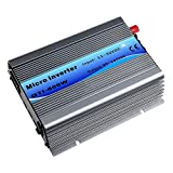 Y&H Grid Tie Inverter 600W Stackable DC11-32V Input AC110V MPPT Pure Sine Wave Micro Inverter fit for 12V Solar Panel/24V Battery