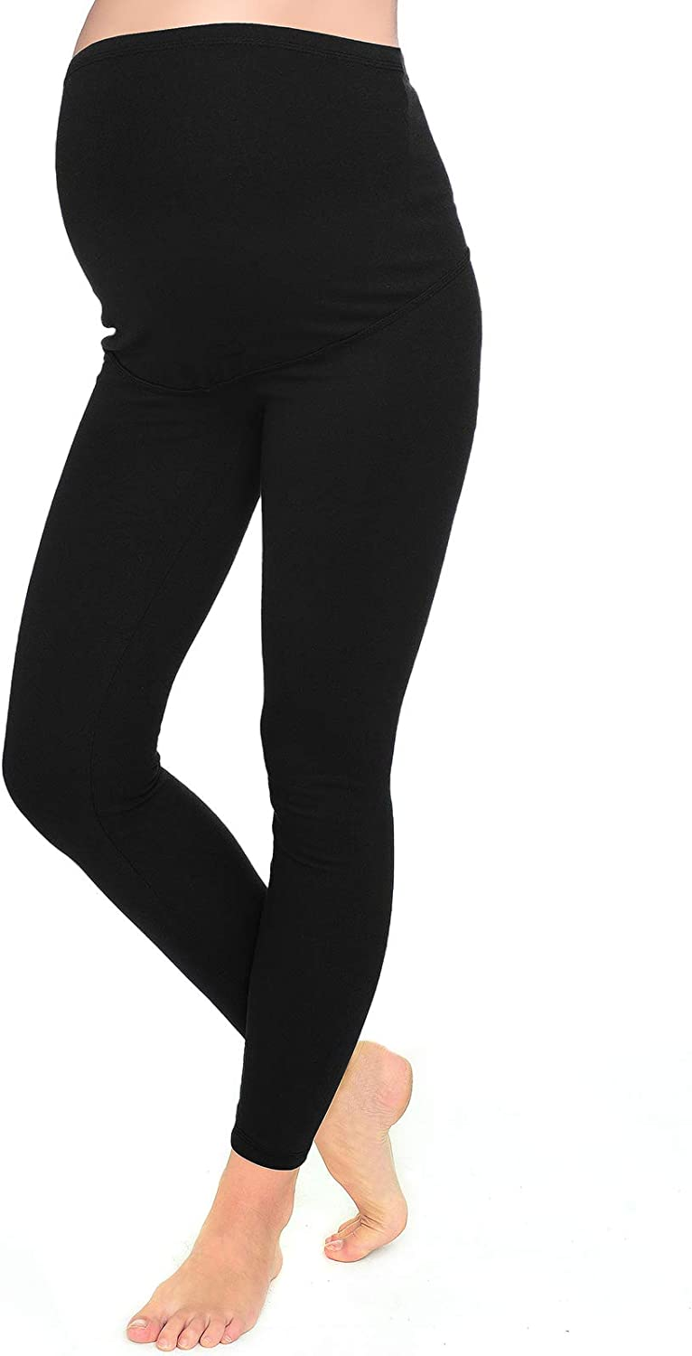 Mija Long Full lenght Warm Maternity leggings for winter spring and autumn 7203
