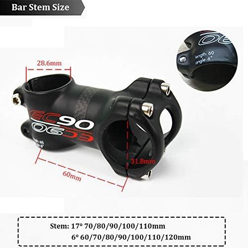 EC90 Handlebar Stem 60-120mm T800 Carbon MTB Road Bike Bicycle Ultralight 6//17°