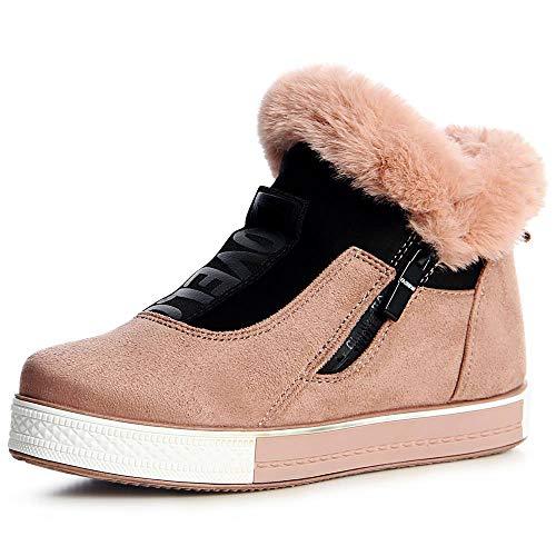 Vieux Chaussures Topschuhe24 Femmes Rose Mocassins qfwYvt