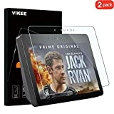 [2-Pack] Amazon Echo Show 2 Screen Protector, VIKEE HD Clear Protector [Anti-Scratch] [Anti-Fingerprint] [No-Bubble] [Case-Friendly], 9H Hardness Tempered Glass Screen Film for Amazon Echo Show 2