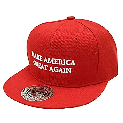 Make America Great Again Donald Trump USA Cap Adjustable Baseball Hat Red