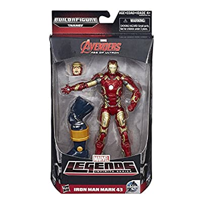 Marvel Legends Infinite Series Iron Man Mark 43 6-Inch Figure: Toys & Games