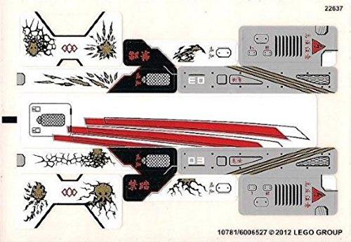 Lego Original Sticker Sheet for Ninjago Set #9449