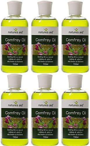 6 PACK – Natures Aid – Comfrey Oil 150ml 6 PACK BUNDLE