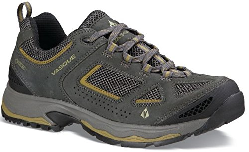 Vasque Mens Breeze III Low GTX Hiking Shoes Magnet / Lizard 9 M