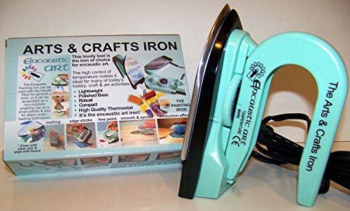 Encaustic Art Painting Iron (Iron Art)