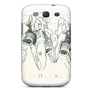 Slim Fit Tpu Protector Shock Absorbent Bumper Suit Case For Galaxy S3