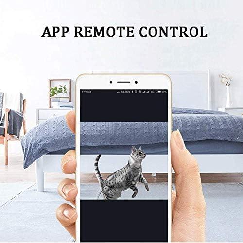 8bayfa BLUCE Robot Aspirateur, Caméra 720P, App Intelligent Control, Auto-Charge Anti-Collision, for planchers de Surface Tapis Minces